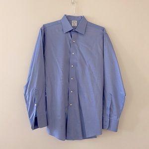 Brooks brothers dress shirt regent fit  size 16.5